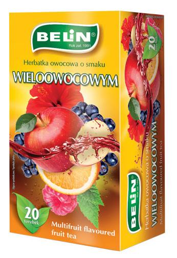 Herbatka owocowa o smaku wieloowocowym