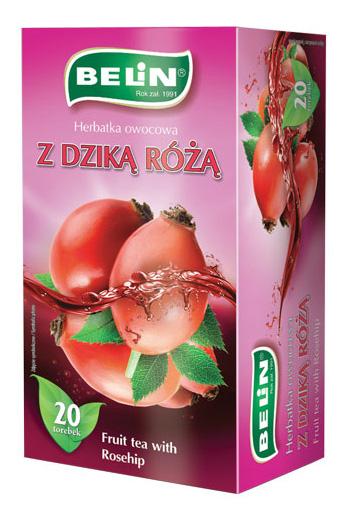 Herbatka owocowa o smaku dzikiej róży