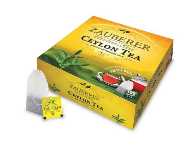 herbata czarna ceylon belin