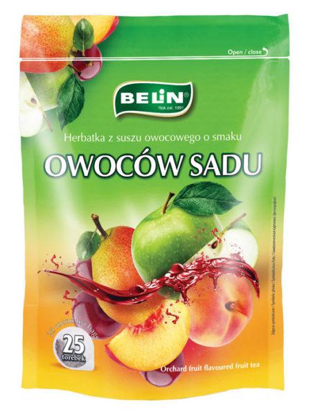 Herbatka owocowa o smaku owoców sadu