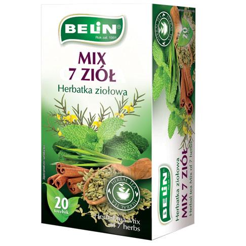 Herbatka ziołowa Mix 7 ziół