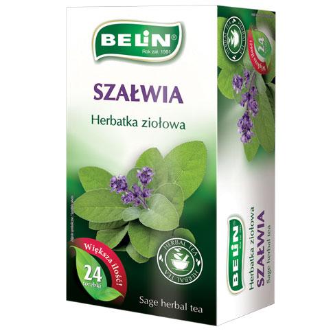 Herbatka ziołowa Szałwia